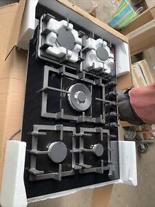 Neff T27CA59S0 75cm Black 5 Burner Gas Hob