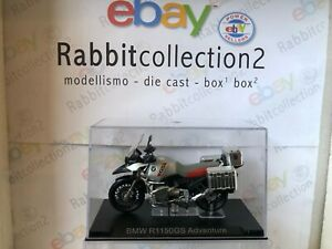 "Die Cast "" BMW R1150GS Adventure "" Moto Scale 1/24"
