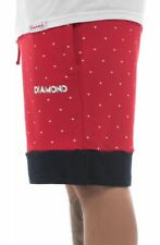 Diamond Supply Co. Mens Walking Sweat Shorts DECO Red Navy S-XL T-Shirt $65
