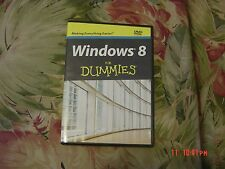 Windows 8 for Dummies (DVD, 2012) Step by Step Instructions,