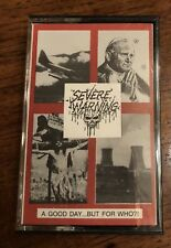 Severe Warning Cassette Tape Cleveland Metal Rare!  A Good Day But For Who