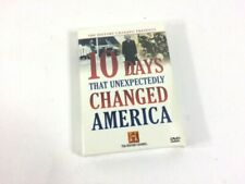10 Days that Unexpectedly Changed America (DVD, 2006, 3-Disc Set) Brand New