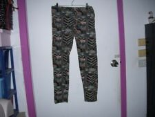 Tapered Geometric Pants for Women