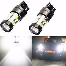 JDM ASTAR 2x50W 7443 7440 LED Super White Turn Signal Brake Tail Light LED Bulbs