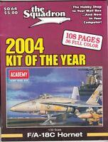 "[63966] ""THE SQUADRON"" MODELER CATALOG MAGAZINE 2004 KIT OF THE YEAR SQ 64"