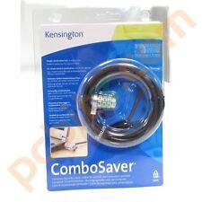 NEW Kensington 64050 ComboSaver Notebook Computer Laptop Cable Combination Lock