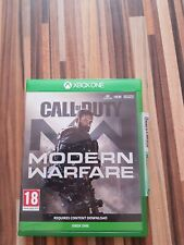 CALL OF DUTY MODERN WARFARE  Xbox one Game