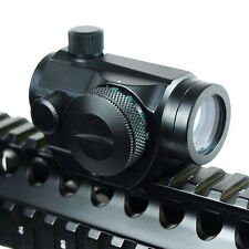 Tactical Holographic Reflex Red & Green Dot Sight Scope w/ Picatinny Rail Mount