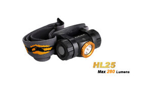Fenix HL25 280 Lumens - Black/Bronze - LED Headlamp - 3x AAA