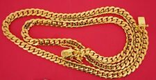 105 Grams Miami Cuban Link Chain 10K Solid Yellow Gold 7mm Gold Best Price ASAAR