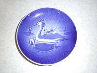 B & G BING & GRONDAHL 1978 Mors Dag MOTHER'S DAY Plate Copenhagen Denmark