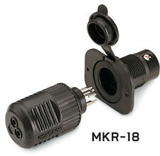 Minn-Kota MKR-18 Trolling Motor 12V Plug & Receptacle 1865102