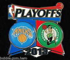 New York Knicks vs Boston Celtics 2013 NBA Playoffs Pin Basketball NY FS Carmelo