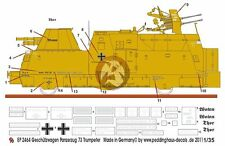 Peddinghaus 1/35 Kanonen und Flakwagen BP 44 No.73 Markings (for Trumpeter) 2464