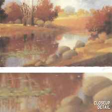 "Image 24""x17"" MEADOWS & PONDS II-MAX HAYSLETTE NUMBERED #5/950 w/SIGNATURE S/N"