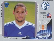 N°110 JERMAINE JONES # USA SCHALKE 04  CHAMPIONS LEAGUE 2013 STICKER PANINI