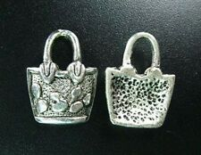 15pcs Tibetan Silver Handbag Charms 20x15mm R549