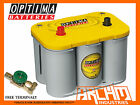 NEW OPTIMA D34 YELLOW TOP DRY CELL DEEP CYCLE NON SPILLABLE 12V BATTERY