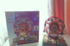 Lemax Victorian Flyer Ferris Wheel Village Carnival Ride Signature Collection