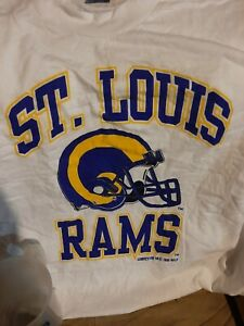 Vintage St Louis Rams Shirt And Mug, New With Tags, Size Xl