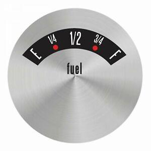 American Retro Rodder Series Fuel Level Face