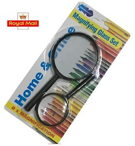 2 Magnifying Glass With Handle Magnifying