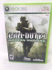 Call of Duty 4: Modern Warfare (Xbox 360)  - great condition - FREE ship
