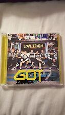 got7 Love train CD and DVD type B first press japanese single