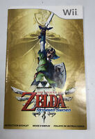 **Manual Only** The Legend of Zelda: Skyward Sword Nintendo Wii 2011 Manual Only