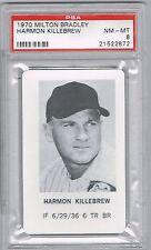 1970 Milton Bradley HARMON KILLEBREW (PSA 8 NM-MT) MLB Hall of Fame (872