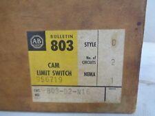 NEW ALLEN-BRADLEY 803-D2-N16 CAM ROTARY LIMIT SWITCH