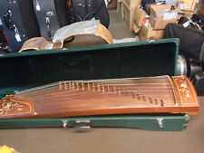 """Concert quality 63"""" Gu Zheng 古箏 Chinese Zither with Deluxe Case"""