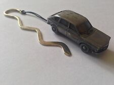 411 4 Door ref298 FULL CAR on a Curved bookmark with cord