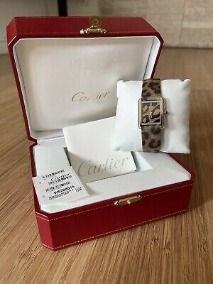 Orologio Cartier Tank Solo Panther Edition Ref. W5200015