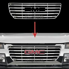 2004-2012 GMC Canyon CHROME Snap On Grille Overlay Front Full Grill Cover Insert