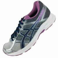 Asics Gel Contend 4 Running Shoes Purple/Silver Women's Athletic Sneakers Sz 9.5