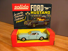 VINTAGE DIECAST CAR FORD MUSTANG 1/43 SOLIDO