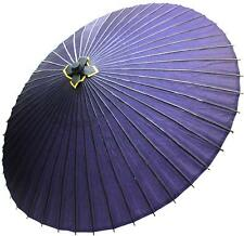 Kimono japonés wagasa Papel Paraguas púrpura Samurai Janome Kasa Cosplay Japón