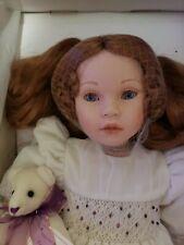 "Pauline Bjonness-Jacobsen L.E Doll "" Mikayla"" 806 Of 950 Nib"