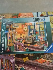 Ravensburger My Haven 4 - The Sewing Shed - 1000pc Jigsaw Puzzle