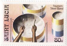 SAINT LUCIA - 1986 - Tourism : Steel Band - MNH Stamp - Sc. #864