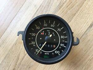 VINTAGE VW VOLKSWAGEN BUG SPEEDOMETER 0-100 MPH