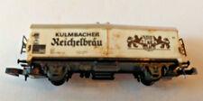 Z scale Marklin Mini Club Kulmbacher Reichelbrau Reefer Box Car weathered Rare