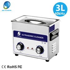 Ultrasonic Cleaner 3L Solution Bath Cleaning Metal Parts Circuit Boards Tools