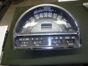 1953,54 Pontiac Gauge Cluster Used OEM