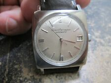 GIRARD PERREGAUX GYROMATIC WITH DATE STAINLESS RUNING WRIST WATCH