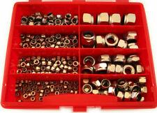 240 Teile Selbstsichernde Muttern Sortiment Box M3 - M12 DIN 985 Edelstahl V2A