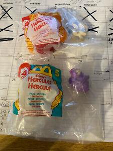 (2) 1996 Hercules McDonalds Toys