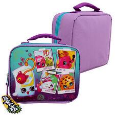 Shopkins Food Girls School Insulated Snack Picnic Lunch Bag Box Purple Lonchera