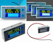 10-100V LCD Acid Lead Lithium Battery Capacity Indicator Voltage/meter Tester